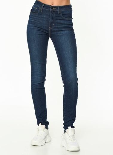 Levi's® 188820330 721 High Rise Skinny Out On A Yüksek Bel Skinny Dar Paça Kadın Jean Pantolon Lacivert